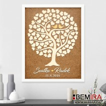 Wedding Tree guest book - image