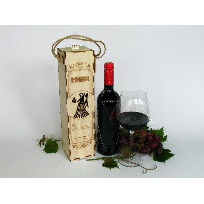 Birthday wine case - astrological sign of Virgo