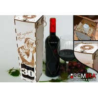 Bottle case with Photographer design