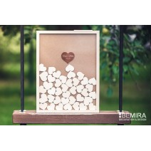 Wedding guest book - image