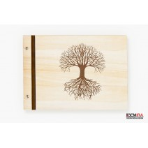Wooden photo album - Tree of life (light)