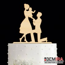Wedding cake decoration - 14