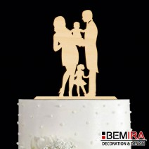 Wedding cake decoration - 16