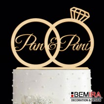 Wedding cake decoration - 17