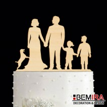 Wedding cake decoration - 11