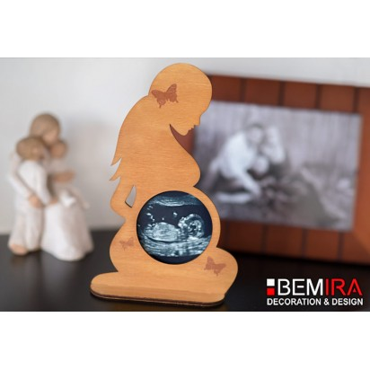 Stand for photo from screening (silhouette of a pregnant woman) - Decor 1
