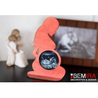 Stand for photo from screening (silhouette of a pregnant woman) - Decor 2
