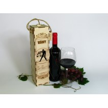 Birthday wine case - astrological sign of Libra