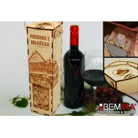 Bottle case - Greetings from Wallachia