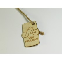 Bottle tag - Cyclo 2