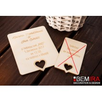 Wedding Invitation - hearth style (Invitation)