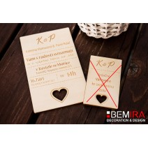 Wedding Invitation - modern style (Invitation)